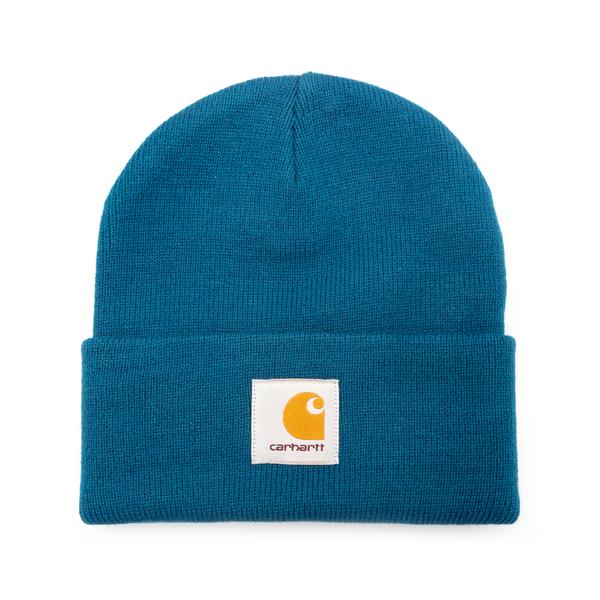 Cappello a cuffietta blu con logo                                                                                                                     Carhartt I017326 retro