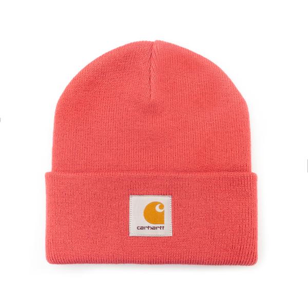 Cappello a cuffietta rosa con logo                                                                                                                    Carhartt I017326 retro