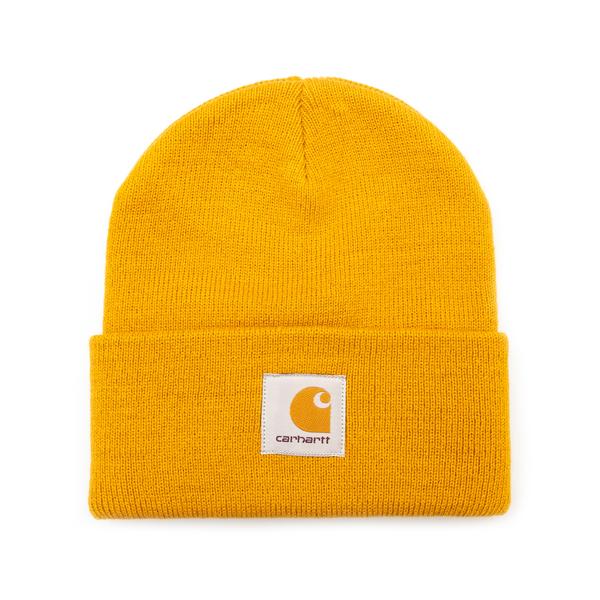Cappello a cuffietta senape con logo                                                                                                                  Carhartt I017326 retro