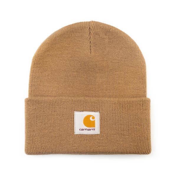 Cappello a cuffietta beige con logo                                                                                                                   Carhartt I017326 retro