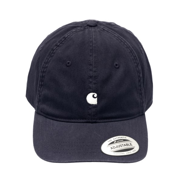 Cappello da baseball blu scuro con logo                                                                                                               Carhartt I023750 retro