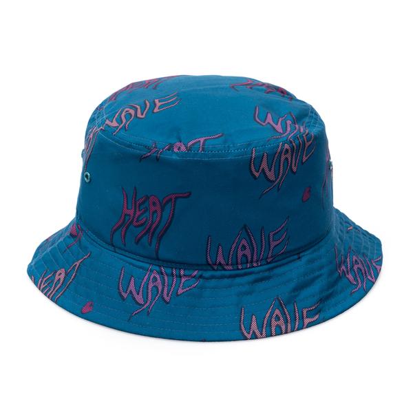Cappello a secchiello blu con scritte                                                                                                                 Carhartt I028732 retro