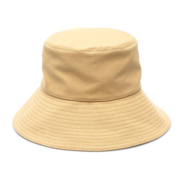 Bucket hat with leather patch                                                                                                                         Loewe Paula's Ibiza K820HF1X17 back