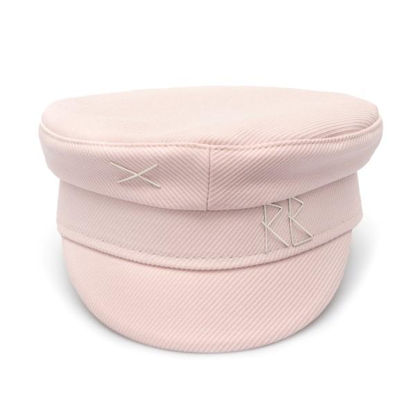 Pink Baker Boy hat with embroidery                                                                                                                    Ruslan Baginskiy KPC039 back