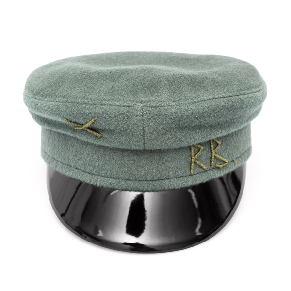 Green Baker Boy hat                                                                                                                                   Ruslan Baginskiy KPC070 back