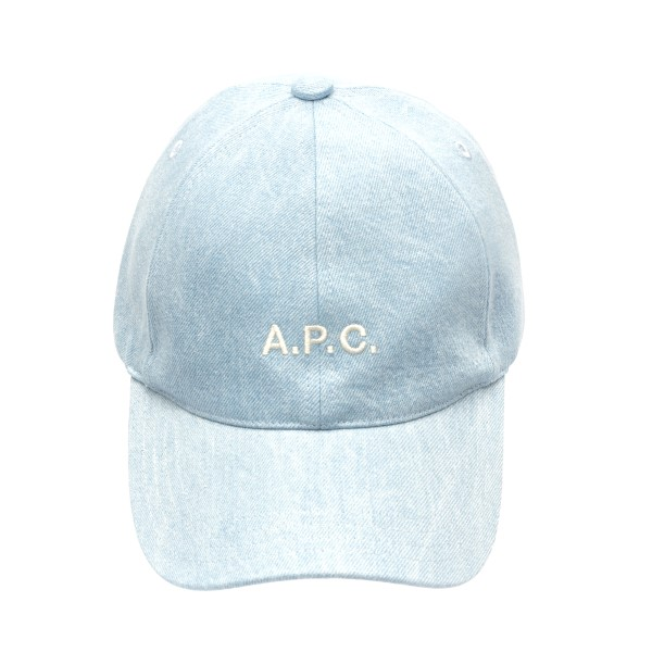 Light blue baseball cap with logo                                                                                                                     A.p.c. M24069 back