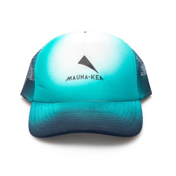 Light blue hat with logo                                                                                                                              Mauna Kea MKSTRHAT back