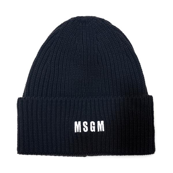 Beanie hat with logo                                                                                                                                  Msgm ML04 back