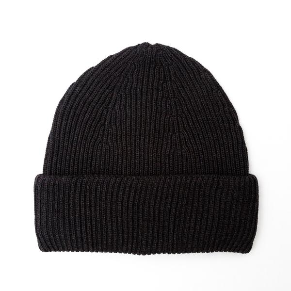 Black beanie hat                                                                                                                                      Nuur RF02152 back