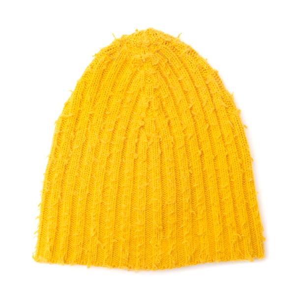 Cappello giallo a coste                                                                                                                               Nuur RF30251 retro