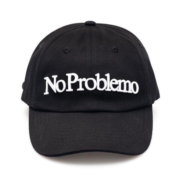 Cappello da baseball nero con ricamo                                                                                                                  Aries SRAR90000 retro