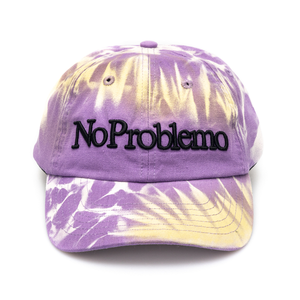 Purple baseball cap with embroidery                                                                                                                   Aries SRAR90001 back