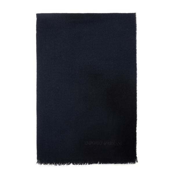 Raw cut wool stole                                                                                                                                    Emporio Armani                                     635282 back