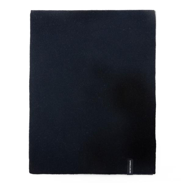 Reversible wool scarf                                                                                                                                 Emporio Armani 625058 back