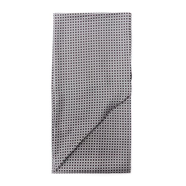 Foulard multicolore con texture geometrica                                                                                                            Emporio Armani 625105 retro