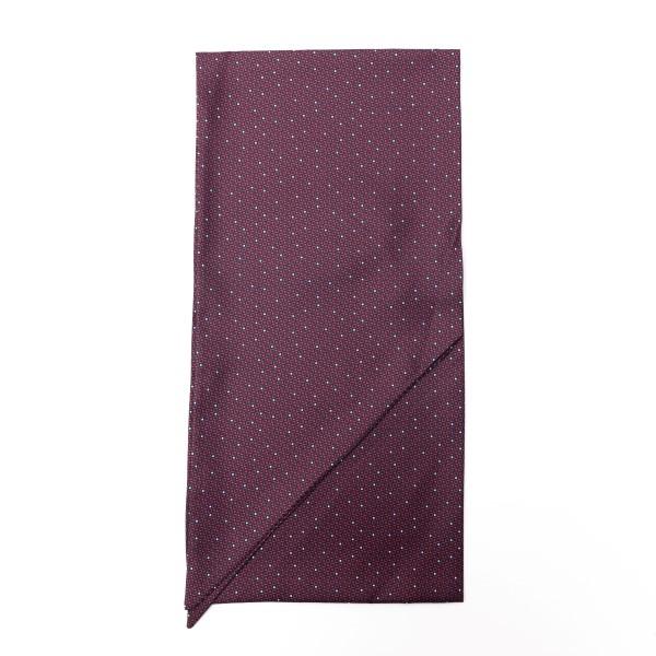 Foulard bordeaux con texture geometrica                                                                                                               Emporio Armani 625105 retro