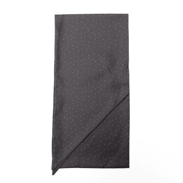 Grey foulard with geometric texture                                                                                                                   Emporio Armani 625105 front