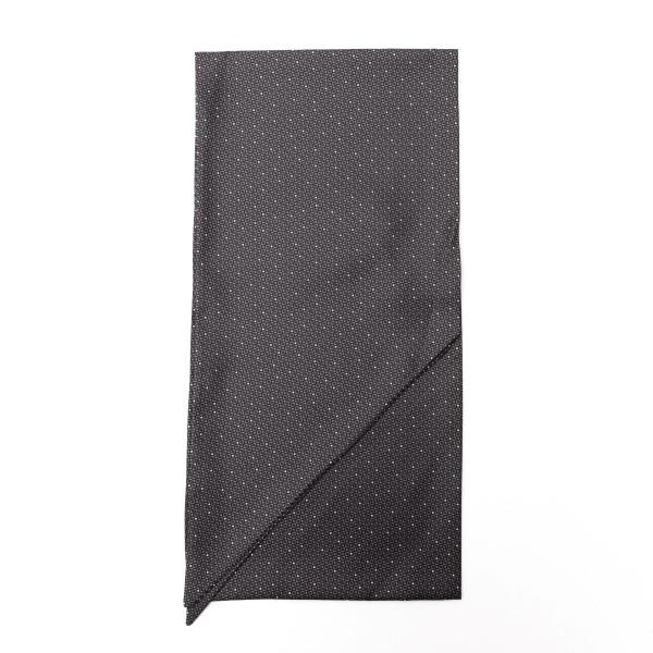 Foulard grigio con texture geometrica                                                                                                                 Emporio Armani 625105 retro