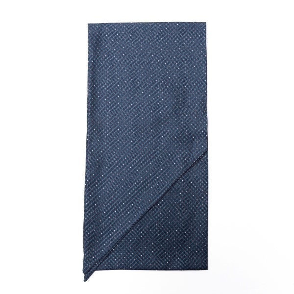 Blue scarf with geometric texture                                                                                                                     Emporio Armani 625105 back