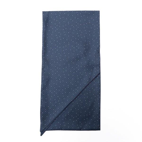 Foulard blu con texture geometrica                                                                                                                    Emporio Armani 625105 retro