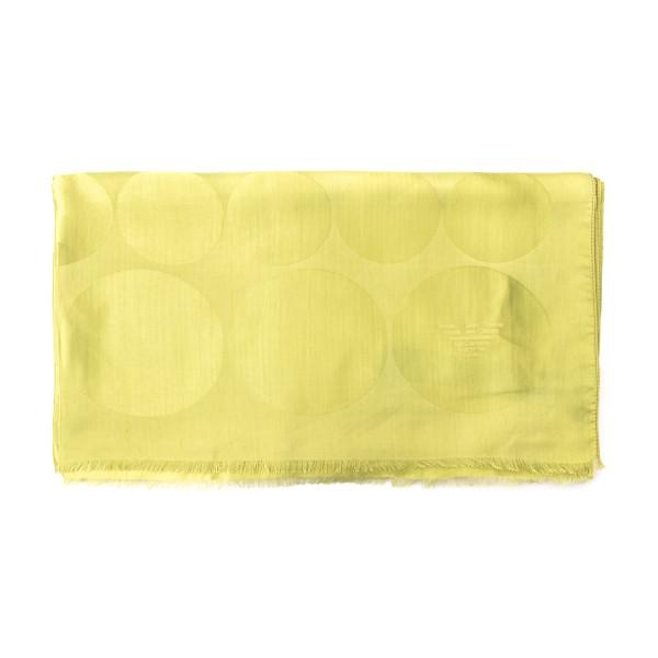 Foulard lime con texture a cerchi                                                                                                                     Emporio Armani 625206 retro