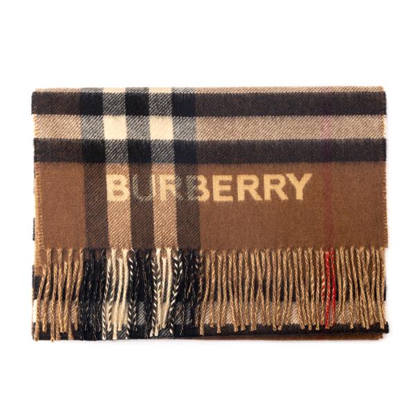 Sciarpa marrone a quadri                                                                                                                              Burberry 8045329 retro
