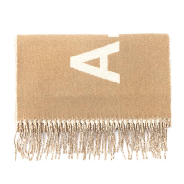 Sciarpa beige con logo                                                                                                                                A.p.c. M15163 retro