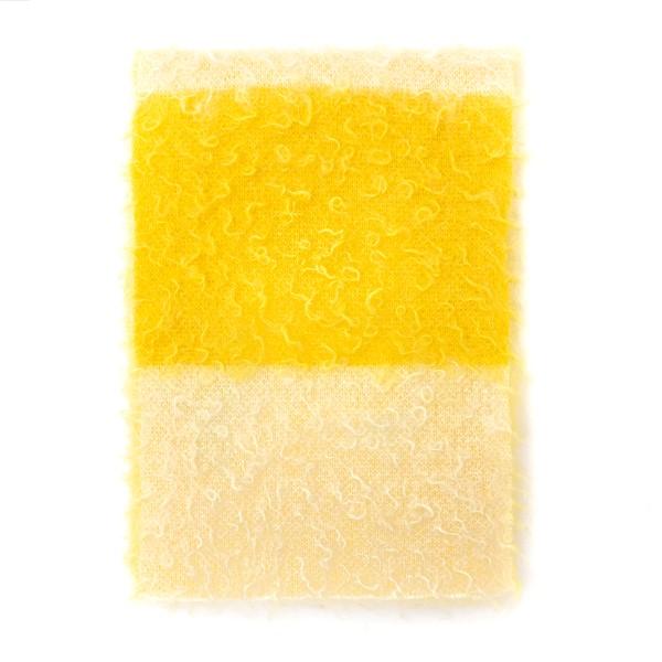 Sciarpa gialla sfrangiata                                                                                                                             Nuur RF28050 retro