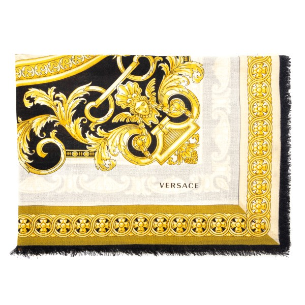 Baroque print scarf                                                                                                                                   Versace IFO1401 front
