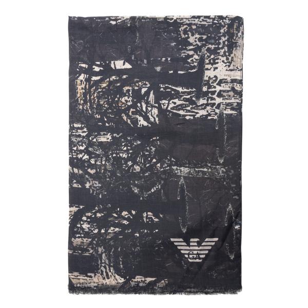 patterned stole                                                                                                                                       Emporio Armani 625264 back