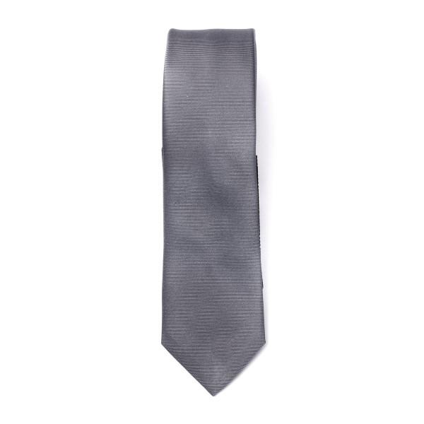 Cravatta grigia lucida                                                                                                                                Emporio Armani 340049 retro