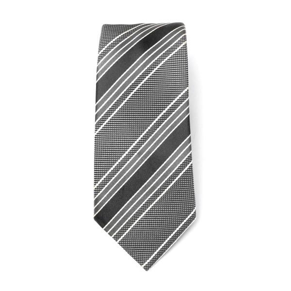 Cravatta nera a righe                                                                                                                                 Emporio Armani 340075 retro