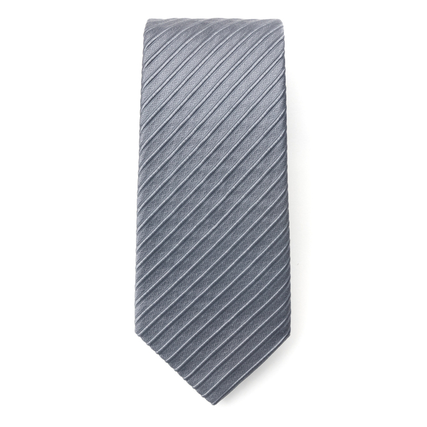 Grey striped tie                                                                                                                                      Emporio Armani 340075 back