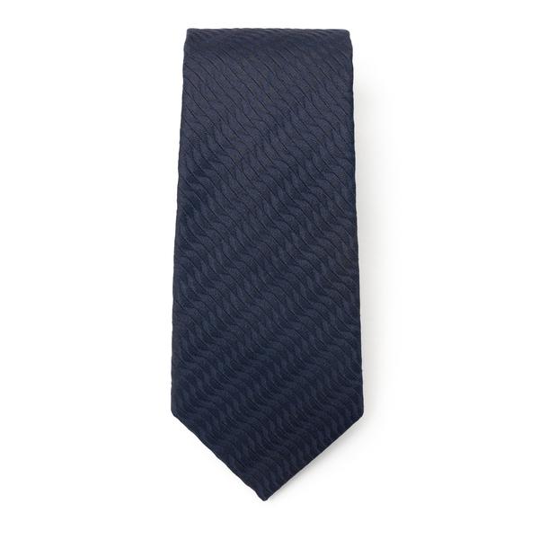 Silk blend tie                                                                                                                                        Emporio Armani 340075 back