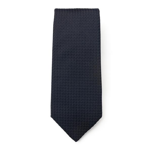 Black tie with texture                                                                                                                                Emporio Armani 340075 back