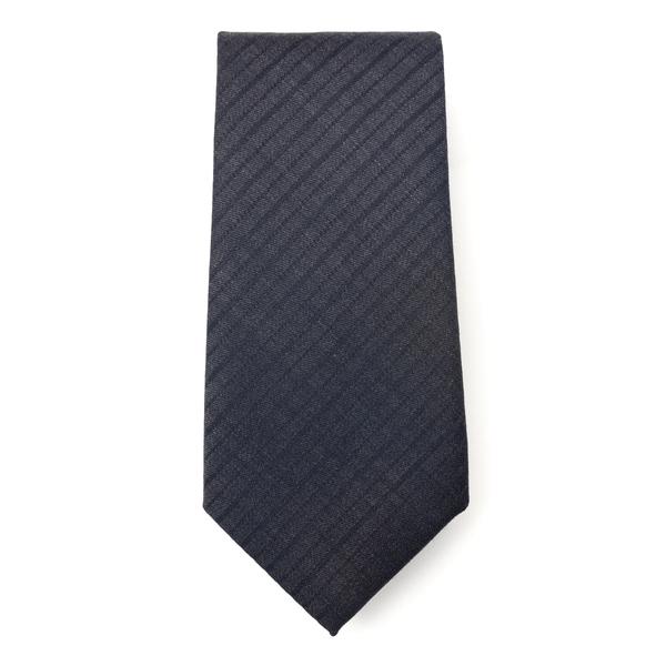 Black tie with pattern                                                                                                                                Emporio Armani 340082 back
