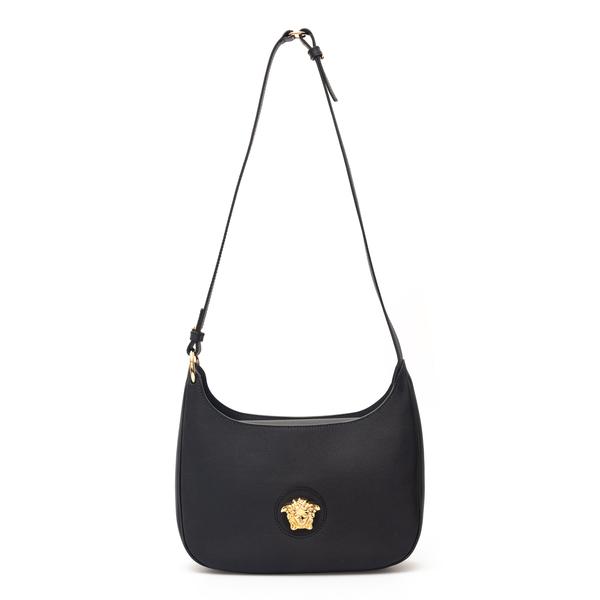 Black shoulder bag with Medusa                                                                                                                        Versace 1000699 back