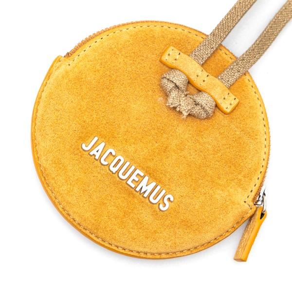 Mini yellow shoulder bag                                                                                                                               JACQUEMUS