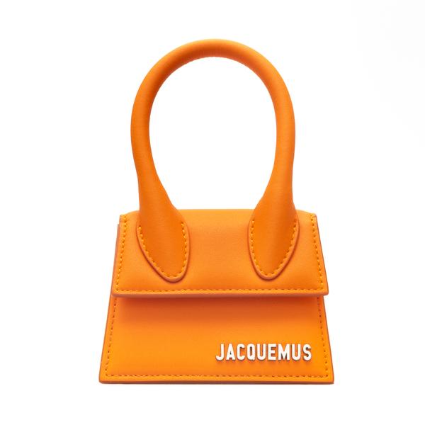 Orange mini bag with logo                                                                                                                             Jacquemus 216BA01 back