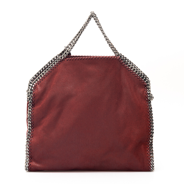 Dark red tote bag                                                                                                                                     Stella Mccartney 234387 back