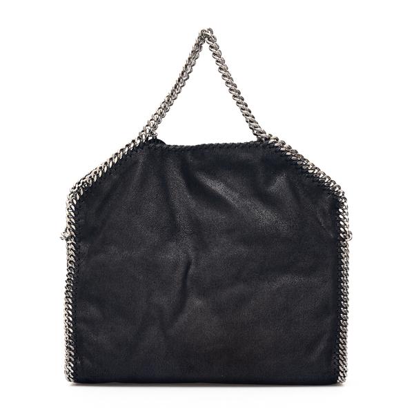 Foldable black tote bag                                                                                                                               Stella Mccartney 234387 back