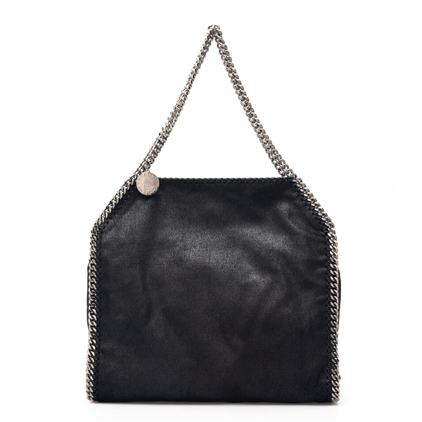 Black tote bag with chain                                                                                                                             Stella Mccartney 261063 back
