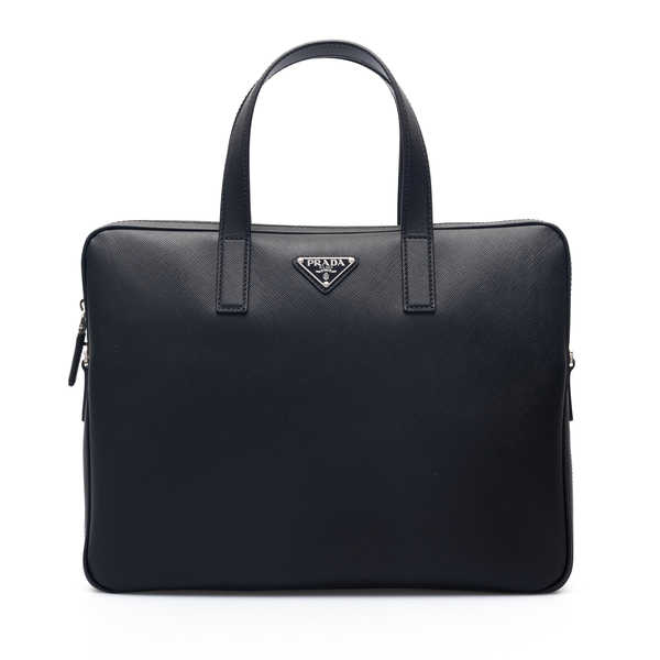 Document bag with logo                                                                                                                                Prada 2VE368 back
