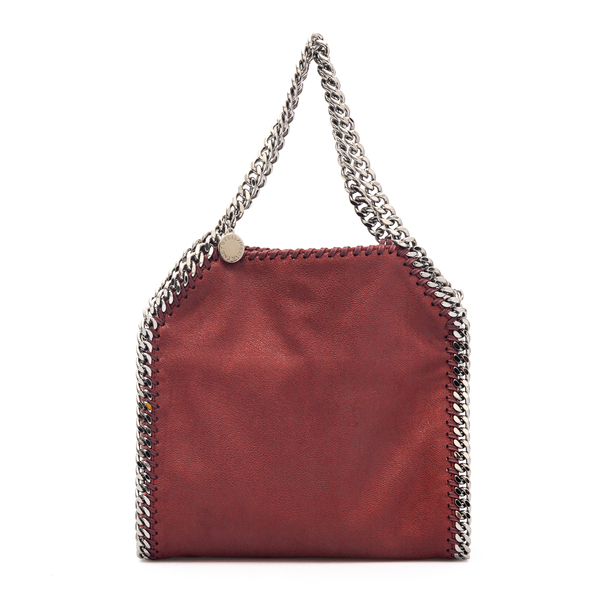 Small tote bag in dark red                                                                                                                            Stella Mccartney 371223 back