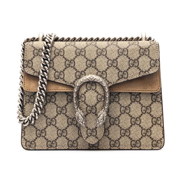 Shoulder bag with tiger plaque                                                                                                                        Gucci 421970 back