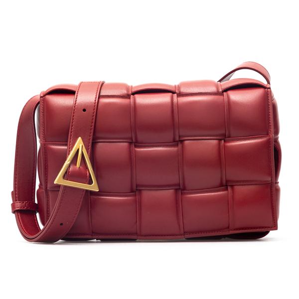 Padded leather bag                                                                                                                                    Bottega Veneta 591970 back