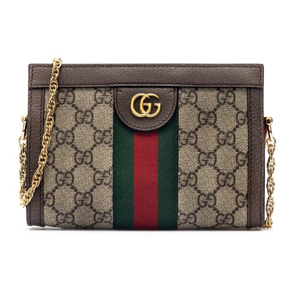 Beige mini bag with two-tone band                                                                                                                     Gucci 602676 back