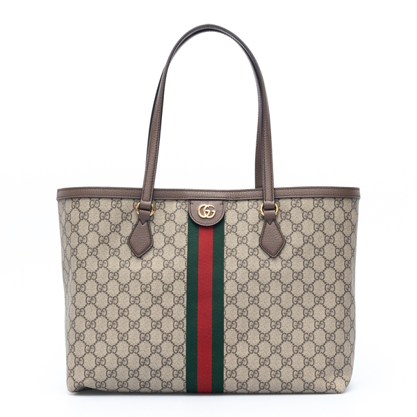 Beige tote bag with GG logo pattern                                                                                                                   Gucci 631685 back