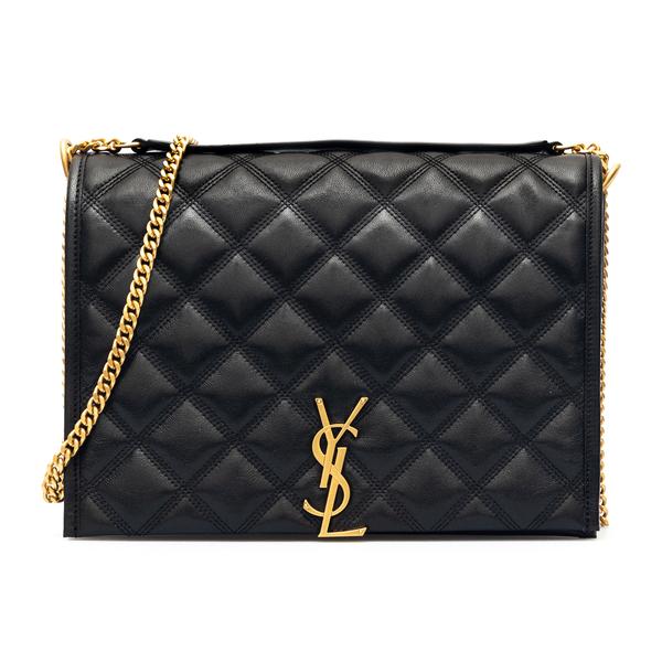 Black quilted mini bag                                                                                                                                Saint Laurent 650769 back