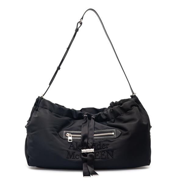 Black shoulder bag with logo                                                                                                                          Alexander Mcqueen 666130 back